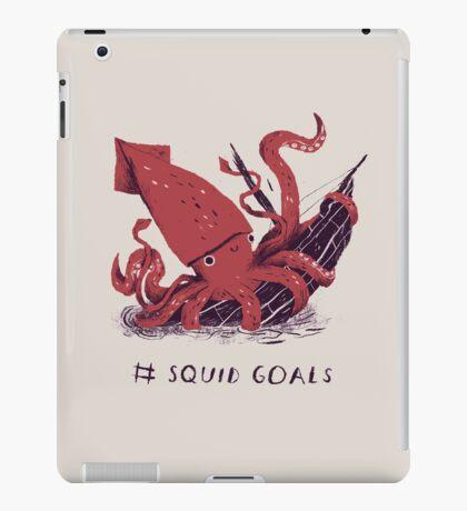 Squid Goals iPad Case/Skin