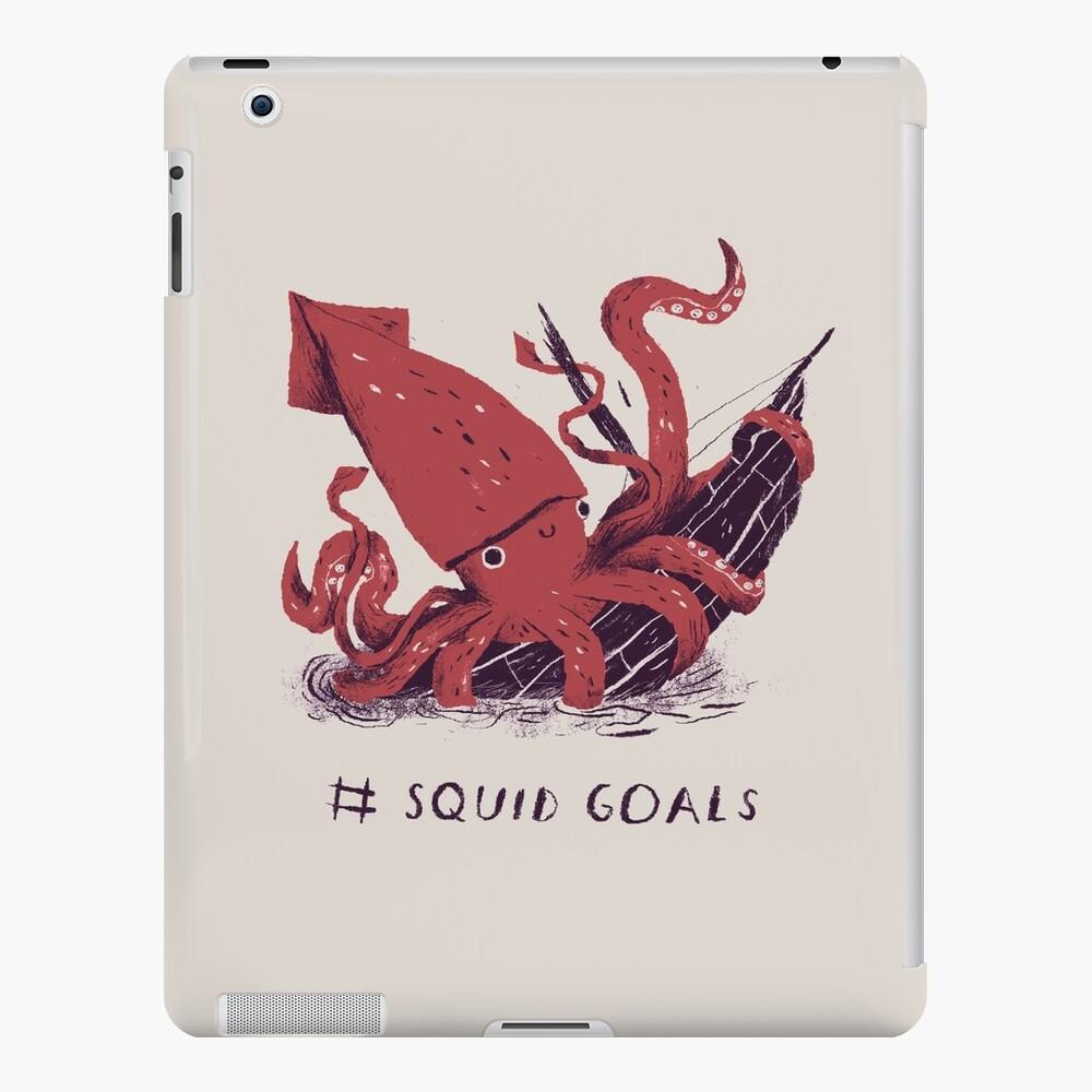 Squid Goals iPad Case & Skin