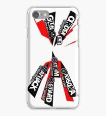 Persona 5 Attack Menu iPhone Case/Skin