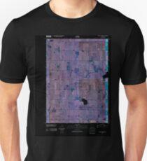 USGS TOPO Map Iowa IA Rush Lake West 20100427 TM Inverted Unisex T-Shirt