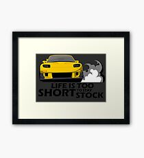 Yellow beater Framed Print
