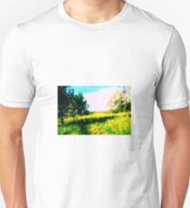 Spring at the Countryside (Westerwald) 03 by Susanne Schwarz Unisex T-Shirt