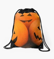 Pumpkin fun  Drawstring Bag