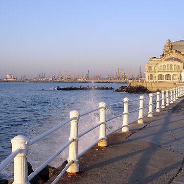 sea coast  by ralukatudor