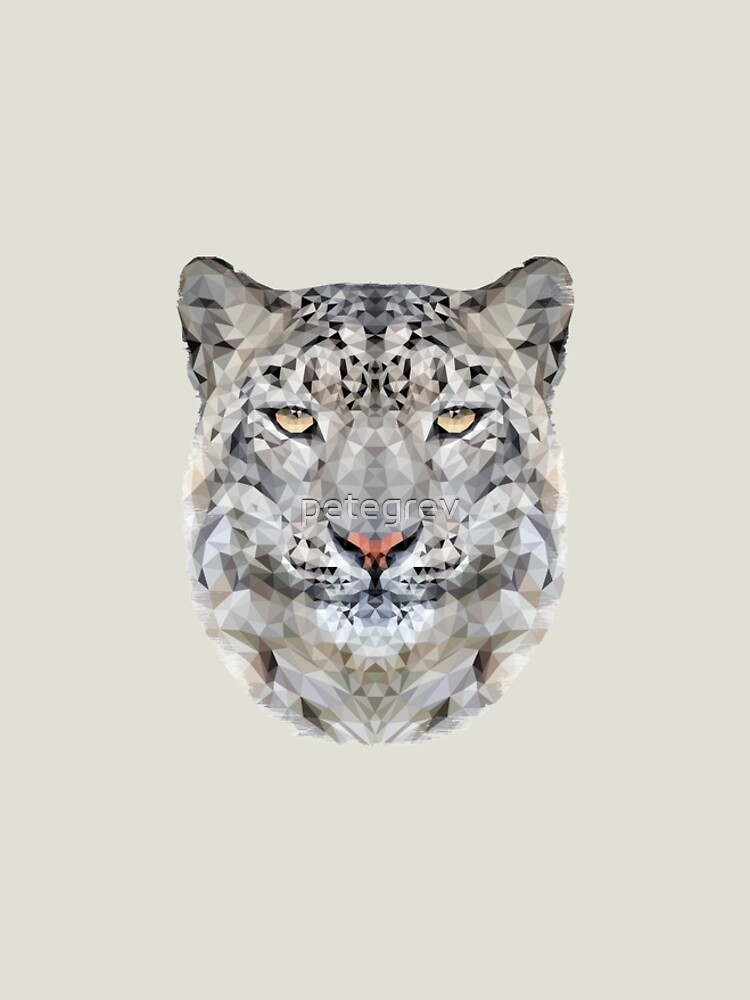 The Snow Leopard by petegrev