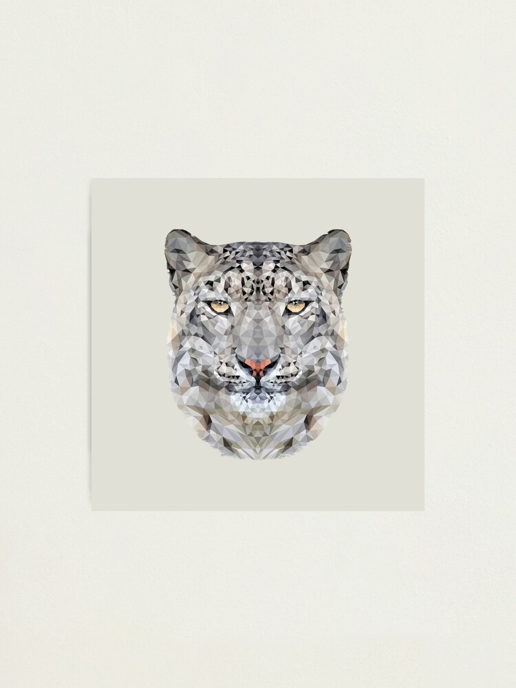 Alternate view of The Snow Leopard Photographic Print
