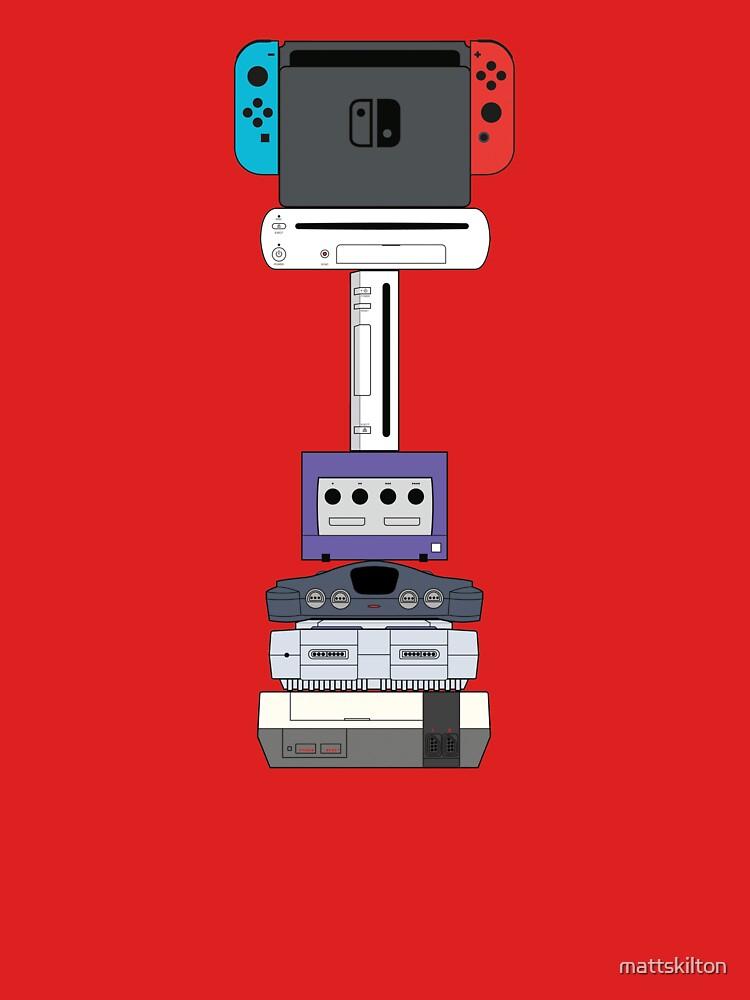 Nintendo Consoles Revised (US) by mattskilton