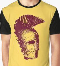 Spartan Warrior - Helmet Graphic T-Shirt