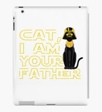 I Am Your Father Tshirt, Funny Cat iPad Case/Skin