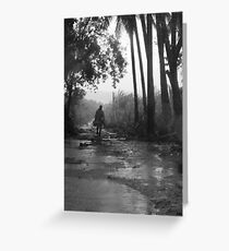 after the hurricane Greeting Card