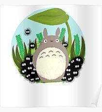 Terrarium Totoro  Poster