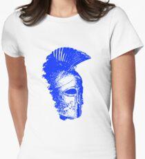 Spartan Warrior - Helmet Womens Fitted T-Shirt