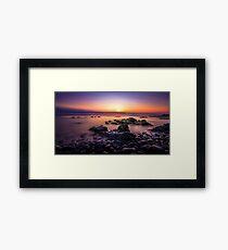 Magic of Sunset Framed Print