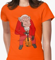 Chimp Maestro Womens Fitted T-Shirt