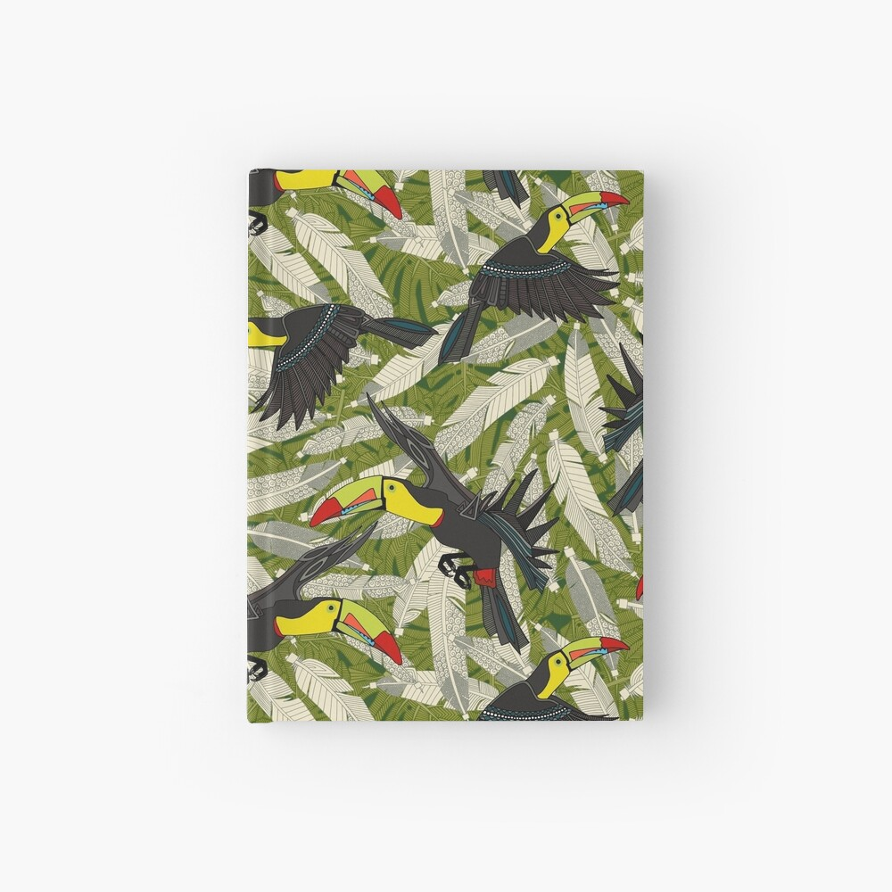 toucan jungle Hardcover Journal