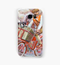 Tweed Runner on Red Pashley Samsung Galaxy Case/Skin