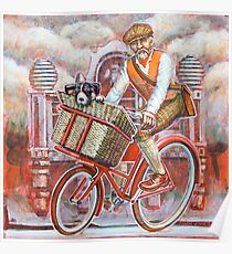 Tweed Runner on Red Pashley Poster