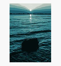 When Darkness Shines Brightest Photographic Print
