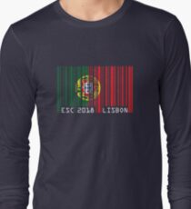 ESC - barcode [2018, Lisbon] Long Sleeve T-Shirt
