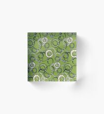 Honolulu hoopla green Acrylic Block