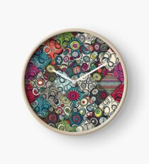 Honolulu diamonds Clock