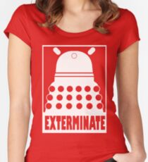 Exterminate DALEK - T-shirt Women's Fitted Scoop T-Shirt