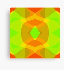 citrus abstract Canvas Print
