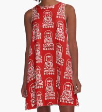 Bliss (Red) A-Line Dress