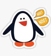 Noot Noot Penguin Tee Sticker