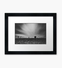 Winter - Cold Framed Print