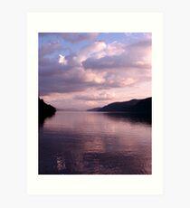 Evening on Loch Ness Art Print