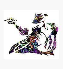 Michael Jackson -  Psychedelic Photographic Print