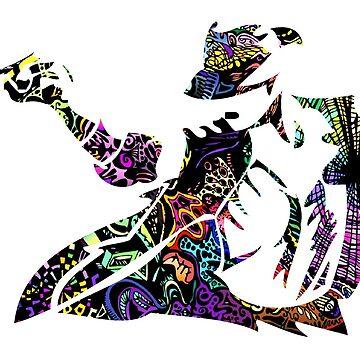 Michael Jackson -  Psychedelic by Gustavinlavin