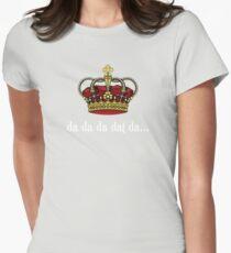 King George III Tee   Da Da Da Dat Da Womens Fitted T-Shirt