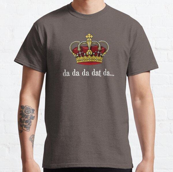 King George III Tee | Da Da Da Dat Da Classic T-Shirt