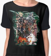 Final Fantasy VII - Collage Chiffon Top