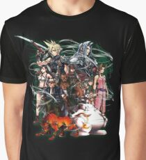 Final Fantasy VII - Collage Graphic T-Shirt