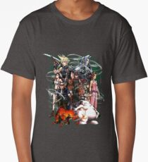 Final Fantasy VII - Collage Long T-Shirt