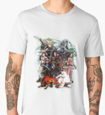 Camiseta premium para hombre Final Fantasy VII - Collage