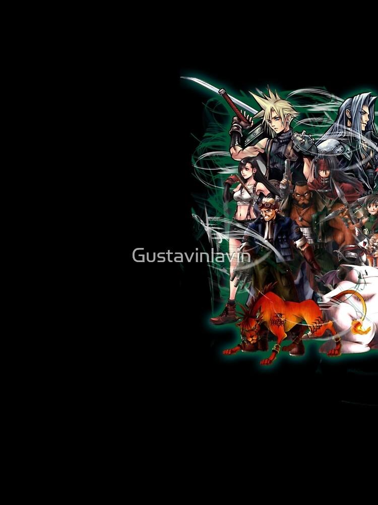 Final Fantasy VII - Collage by Gustavinlavin
