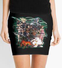 Final Fantasy VII - Collage Mini Skirt
