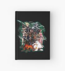 Final Fantasy VII - Collage Hardcover Journal