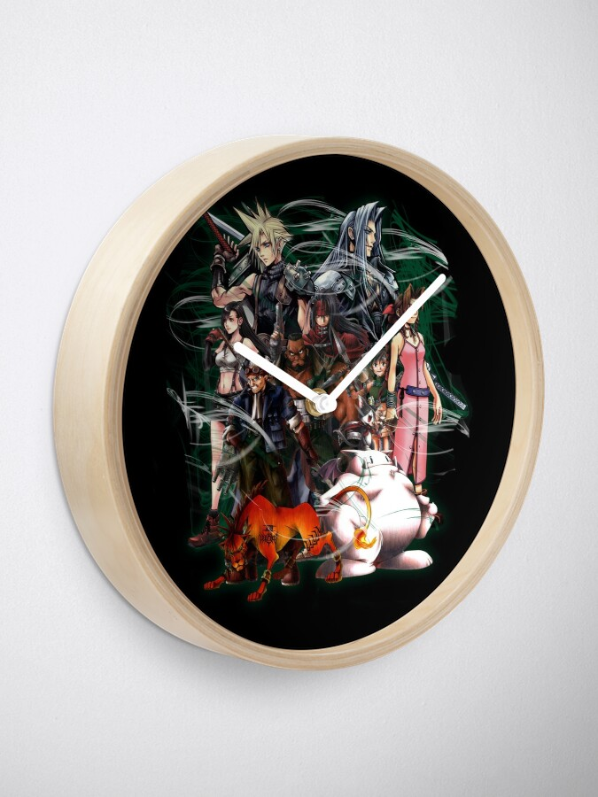 Alternative Ansicht von Final Fantasy VII - Collage Uhr