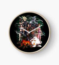 Final Fantasy VII - Collage Clock