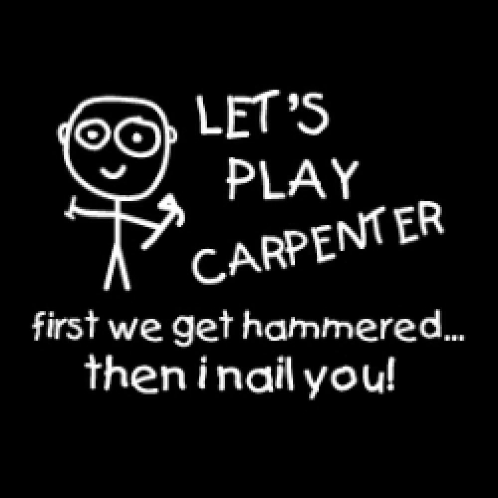 carpenter joke card by gunga