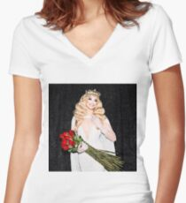 Valentina - Rupaul's Drag Race Women's Fitted V-Neck T-Shirt
