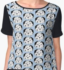 Cute dalmatian Chiffon Top