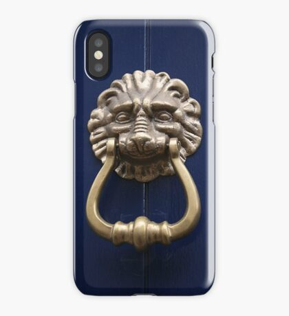 Xtreme Piercing Door Knocker iPhone Case/Skin