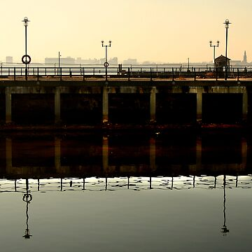 Dockside silhouettes by pinkgeranium