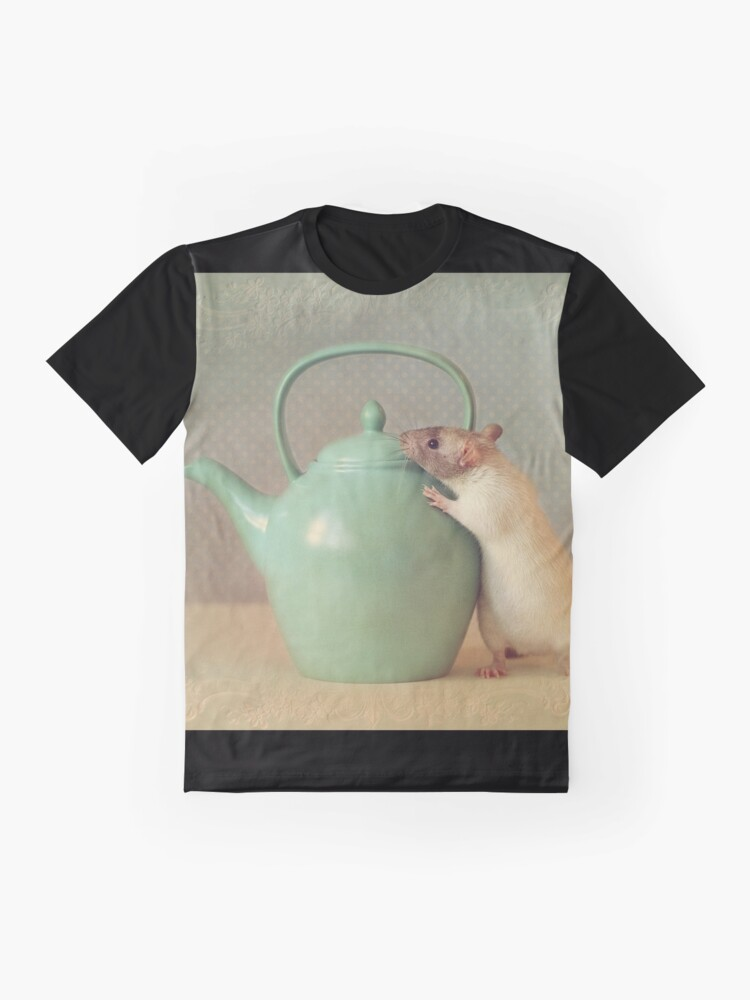 Alternate view of Snoozy with teapot Graphic T-Shirt